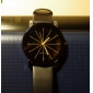 Couple's Watch Men's Watch Korean Fashion Strip Belt Personality Gear Dial Circular Imitation Diamond Quartz Watches Cool Watches Unique Watches