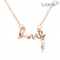 Lureme®Gold Plated Alloy Pearl
