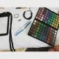 1PCS 줄무늬를 붙임 테이프 선 못 줄무늬 테이프 못 예술 훈장 스티커 (분류 된 색깔)