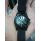 Masculino Relógio Militar Relógio de Pulso Quartzo Tecido Banda Preta Azul Verde Branco Preto Verde Azul
