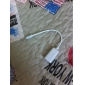 3.5mm Earphone Cable Splitter for iPhone, Samsung and More (Male to Dual Female, White) 0.15M