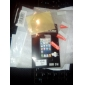 Čirá ochranná fólie pro Apple iPhone 4 (3 pcs)