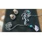 Pendentif de collier Forme d'Animal Oiseau Gemme Alliage Simple Style Européen Bijoux Pour Quotidien Décontracté
