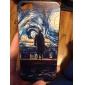 Oil Man Impressão e padrão Sun Hard Case para iPhone 5C