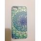 циркон красивые цветы шаблон хорошее чувство тиснение задняя крышка для iPhone 5 / 5S