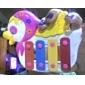 Animal dos desenhos animados Crianças Piano (cor aleatória, 12x11x2cm)