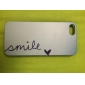 Smile Pattern Plastic Hard Back Case for iPhone 5/5s/SE