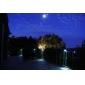 Открытый Солнечные 3 светодиодных сад желоба Стена Забор Лобби свет лампы