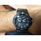 SKMEI 남성 스포츠 시계 디지털 시계 LCD 달력 크로노그래프 방수 듀얼 타임 존 경보 석영 디지털 일본 쿼츠 고무 밴드 블랙