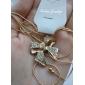 Жен. Ожерелья-бархатки Ожерелья с подвесками В форме банта Хрусталь Сплав Elegant бижутерия Бижутерия Назначение Свадьба Для вечеринок