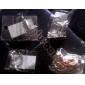 verrou de mode shixin® chaîne tordu& bracelet à maillons (de couleur aléatoire)