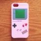 Conçu Consoles de cas de motif de gel de silice stéréo pour iPhone 5/5S spéciale (couleurs assorties)