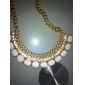 Ожерелье Ожерелья с подвесками Бижутерия Для вечеринок / Повседневные Модно Сплав Серебряный 1шт Подарок