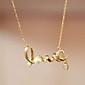 Жен. Ожерелья с подвесками В форме сердца Сплав Любовь бижутерия Простой стиль Бижутерия Назначение Для вечеринок День рождения