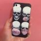 crânio soprando bolhas estojo rígido padrão para o iPhone 5 / 5s