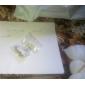 Femme Pendentif de collier Collier de perles Forme de Feuille Perle Imitation de perle Alliage Basique Ajustable Mode Bijoux PourSoirée