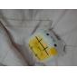 Kawaii Hannari Tofu Cell Plush Mobilholder Holder julegave (CEG1058)