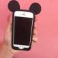 Para Capinha iPhone 5 Antichoque Capinha Protetora de Quinas Capinha Desenho 3D Macia Silicone iPhone SE/5s/5