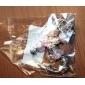 여성 유럽식 수제 구슬로 만드는 팔찌를위한 분홍색 구슬 매력 팔찌