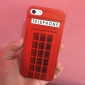 Retro Telephone Booth Hard Plastic Case Cover for iPhone 5/5S