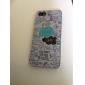 ok Inglês carta padrão hard case& caneta de toque para iPhone 5 / 5s