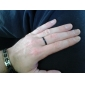 Eruner®Titanium Steel Black Ring
