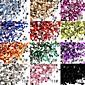 50 nail art akrylové kamínky 2mm dekorace
