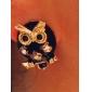 Women's  European and American models owl diamond earrings E134