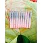 10pcs 2in1 stylo ombre colorée de l'oeil de miroitement éblouissant ensemble eyeliner