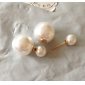 Earring Stud Earrings Jewelry Party / Daily / Casual Imitation Pearl Gold