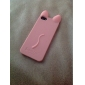 Cute Cartoon Solid Color Silicone Soft Case for iPhone 5/5S