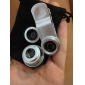 Conjunto de Lentes para Celular Clipe Olho de Gato Amplo e Macro