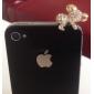 горный хрусталь прекрасный коала 3,5 Anti-Dust Разъем для Iphone / Samsung (ассорти цветов)
