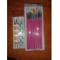 15PCS Nail Art Brush Set with 5PCS Dotting Tool