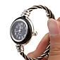 Mulheres Relógio de Moda Quartzo Banda Bracelete Cores Múltiplas Prateado-Preto