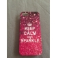 Keep Calm and Sparkle Glossy TPU Soft Case for iPhone 5/5S