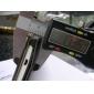 style du livre de cuir véritable de cas de stand de pochette pour HTC One M7