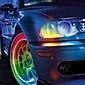 Super heldere, blauw knipperende LED-verlichting voor band (2-pak)