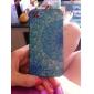 아이폰 4/4S를위한 푸른 연꽃 무늬 알루미늄 하드 케이스