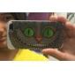 아이폰 5 / 5S에 대한 큰 고양이 웃 패턴 TPU 소재 소프트 백 커버 케이스