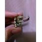 Vintage Söpö Alloy Owl Pattern Ring