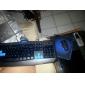 световой оптический высокоскоростной USB проводной игровой клавиатура + мышь (1600dpi) костюм