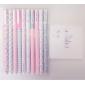 Decorative Pattern Colorful Gel Pen Set(10 PCS)
