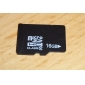 16GB Class 2 MicroSDHC TF Memory Card and MicroSDHC to SDHC Adapter