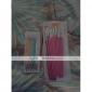 15pcs 핑크 핸들 네일 아트 디자인은 펜 브러시 세트를 그리기 그림&5PCS 2 웨이 찍는 펜 도구를 marbleizing