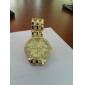 Masculino Mulheres Unissex Relógio Elegante Relógio de Bolso Relógio de Pulso Japanês Quartzo imitação de diamante Lega Banda Brilhante