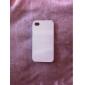 черный& белый узор полосы жесткий футляр для iPhone 4 / 4s