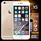 Front and Back HD Screen Protector for iPhone 6S/6  (5PCS)