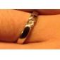 Кольца Свадьба / Для вечеринок / Повседневные / Спорт Бижутерия Сплав / Медь / Платиновое покрытие Кольца для парРегулируется Серебряный