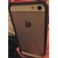 DF двухцветный кадров ТПУ мягкий чехол для iPhone 5 / 5s (ассорти цветов)
